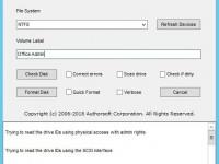 Biçimlendirilemeyen Flash Bellek nasıl biçimlendirilir? Usb Format Tool