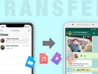 IOS (Iphone) Cihazdan Android Cihaza Whatsapp Verilerini Aktarma