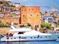 Alanya Marina'dan Yat Limanı Vip Yat Turları